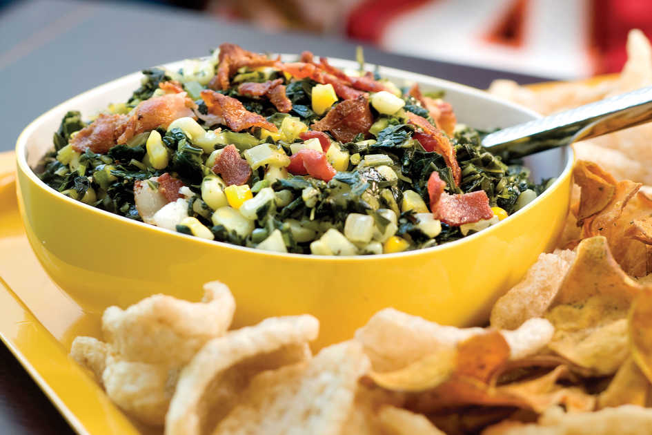 Bacon-and-Greens Salsa recipe
