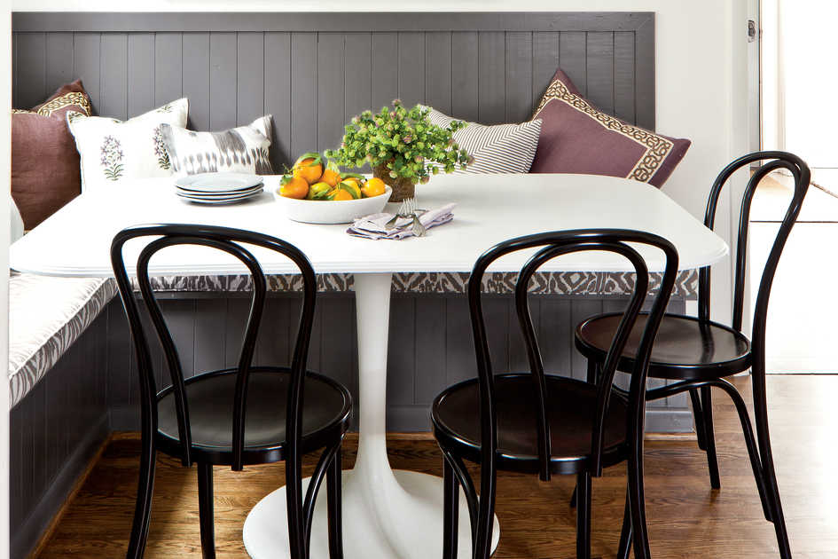 Inviting Breakfast Nook Southern Living Magazine February