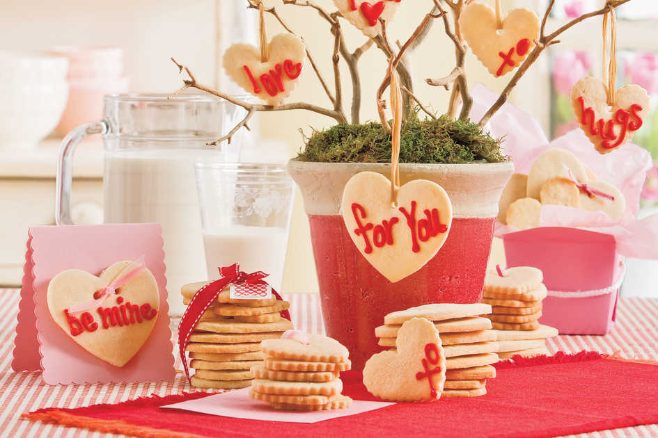 Valentine's Day Cookies: Lemon Butter Cookies