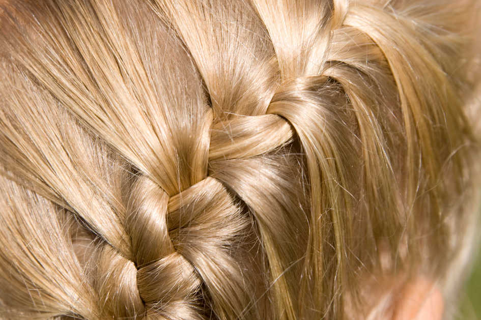 How To French Braid Hair Image