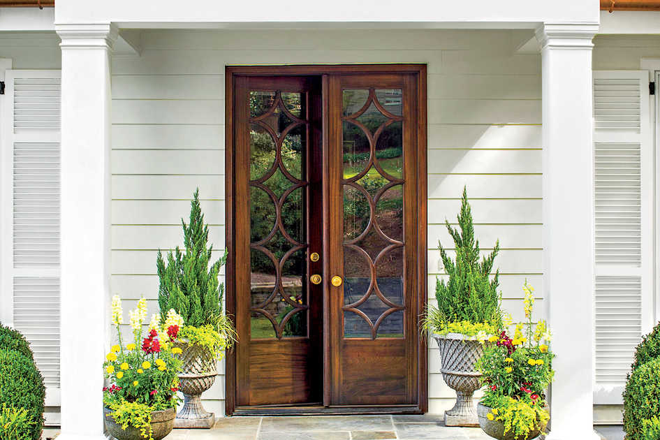 Curb appeal ideas southern living for French door styles