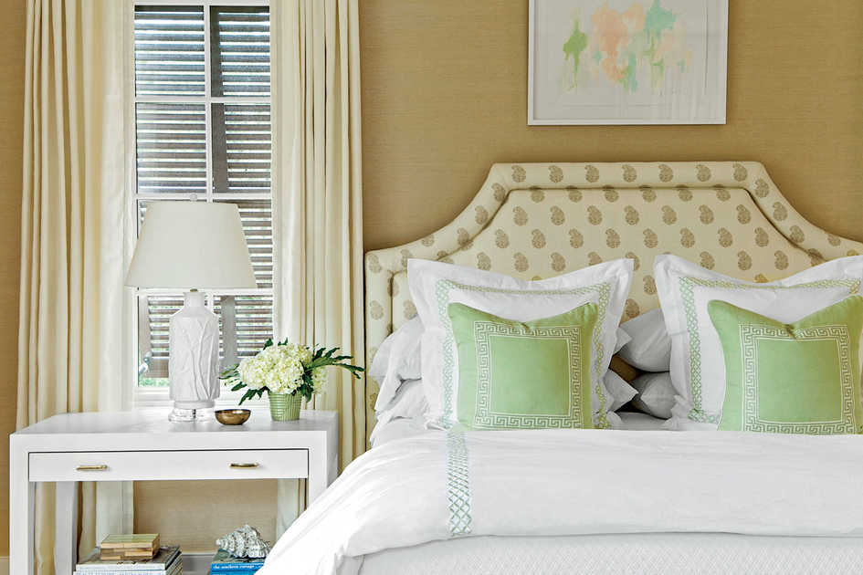 Decorating Bedrooms. Coastal Bedroom with Layered Decor Style Guide  Decorating Ideas Southern Living