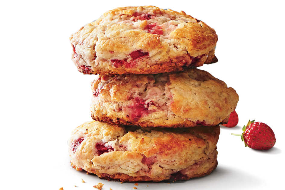 Strawberry Biscuits