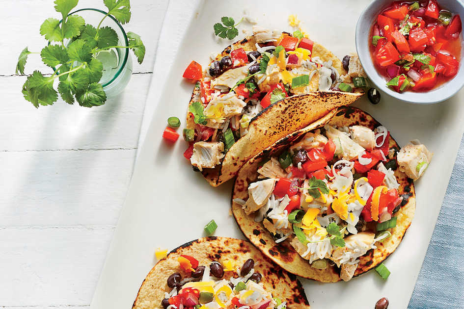 Good Mexican Dinner Party Menu Ideas Part - 14: Southwest Chicken Tortillas