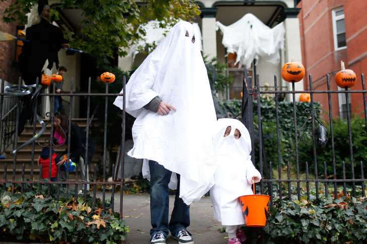 Ghost Sheet Halloween Costume Trick or Treat
