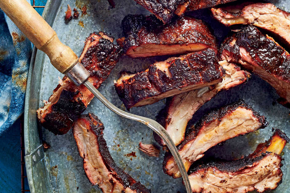 Memphis Dry-Rubbed Baby Back Ribs