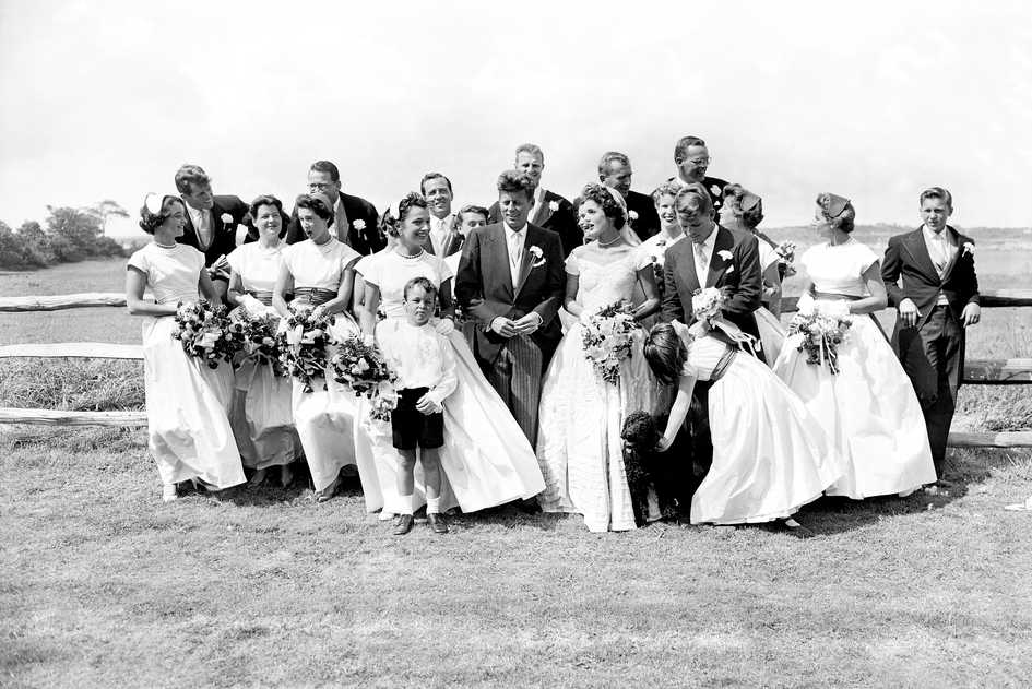 Jackie Kennedy Bridal Party
