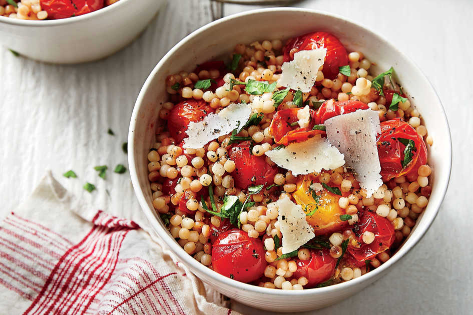 Toasted Couscous and Tomato Salad