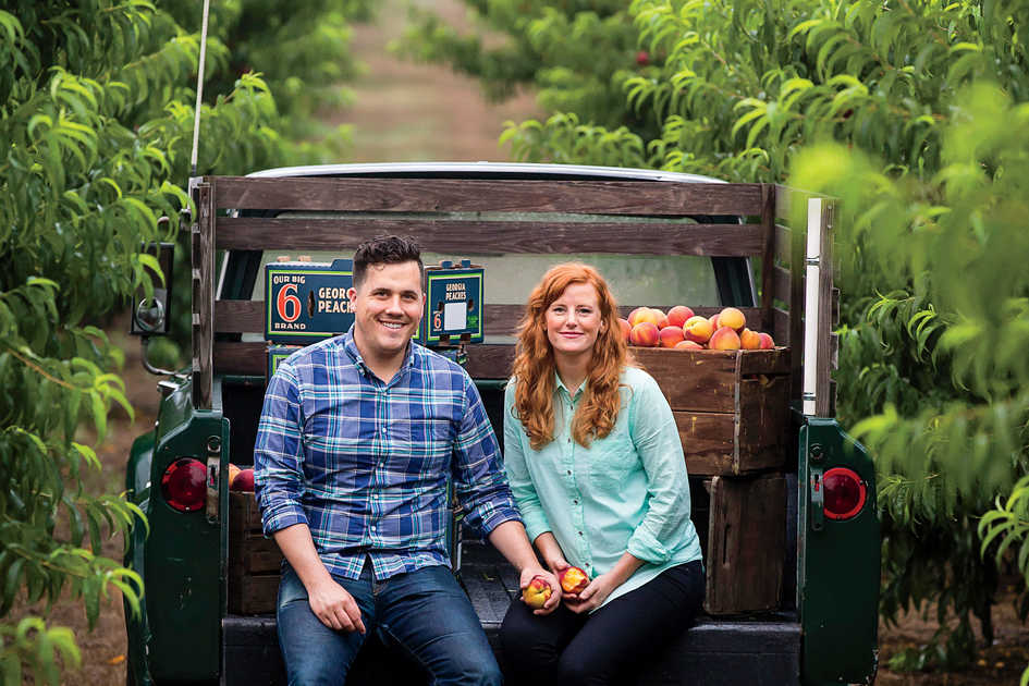 Stephen and Jessica Rose at Pearson Farm
