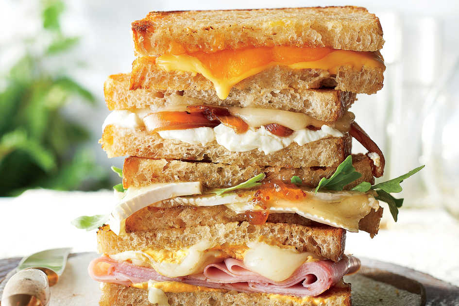 Caramelized Onion Grilled Cheese Recipe
