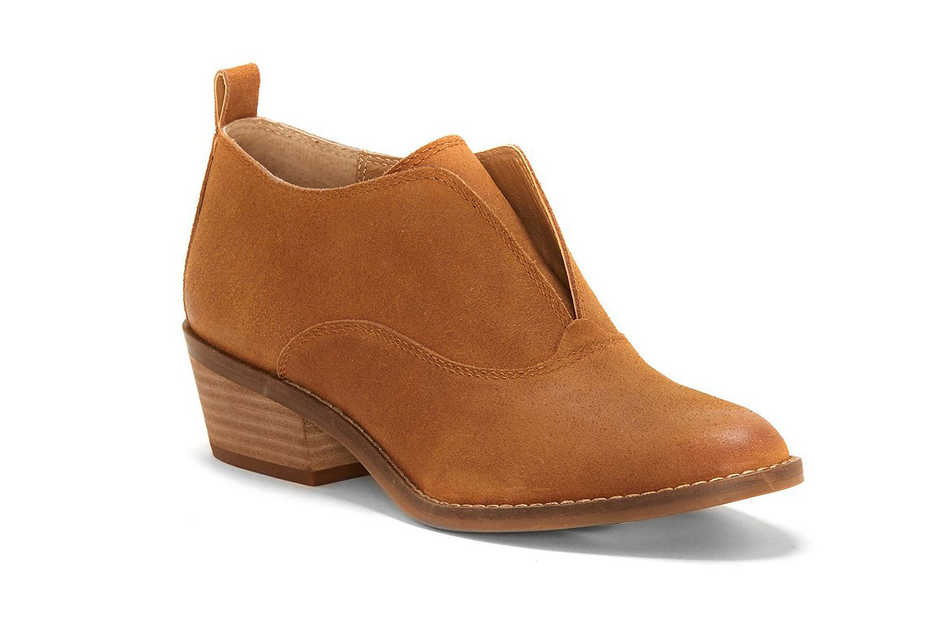 Lucky Brand Fimberly Suede Booties