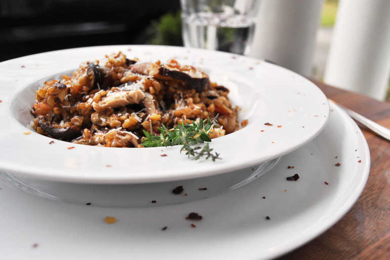 Easy veggie recipe ideas southern living farro risotto forumfinder Image collections