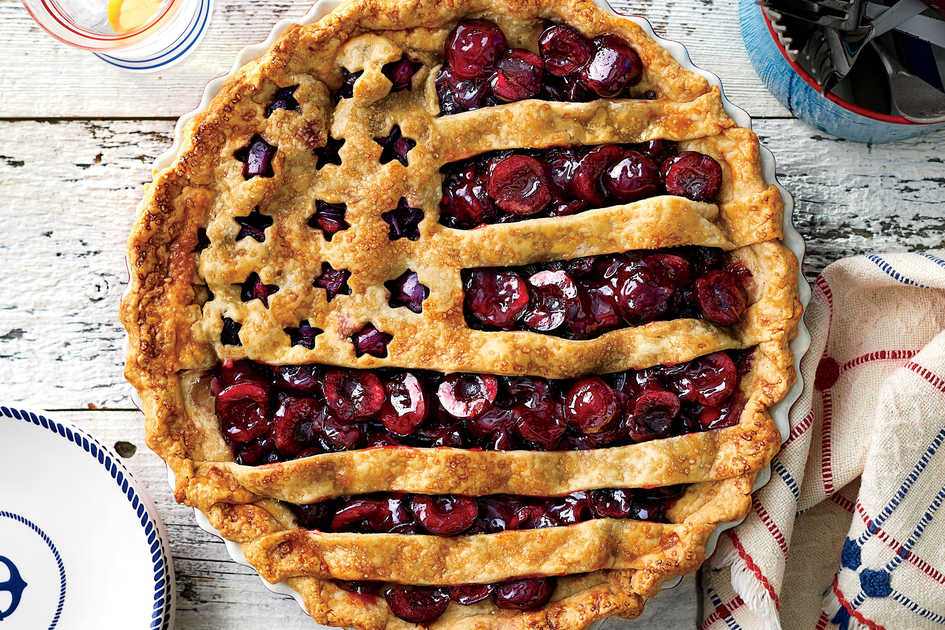 Cherry Flag Pie